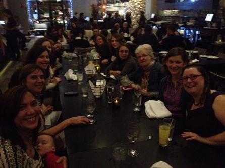 "The 2014 AAA ""Anthropologies of Breastfeeding"" panelists"