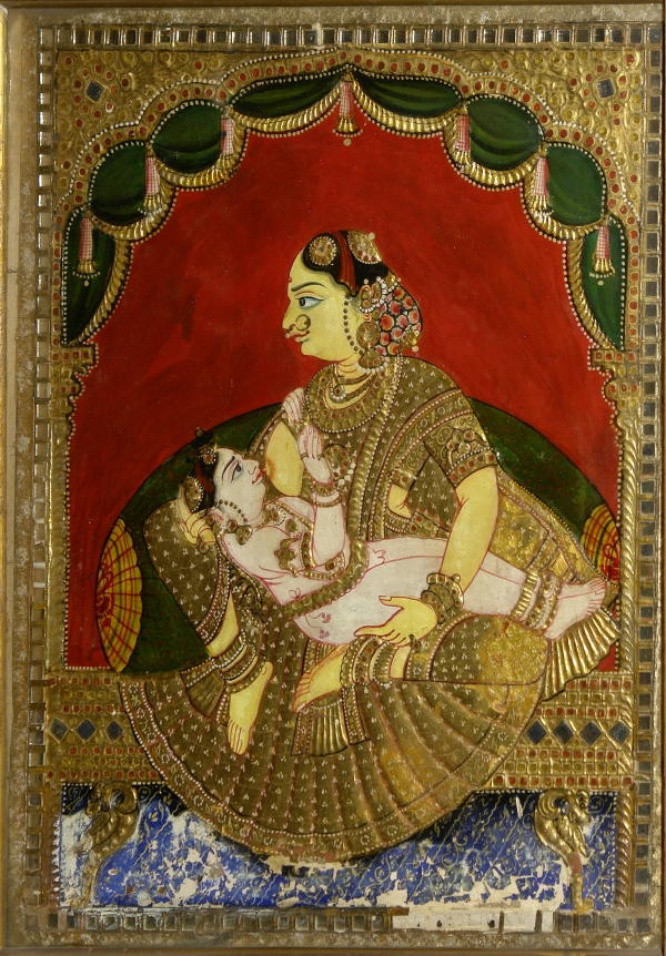 Woman_breast-feeding_a_boy,_Crafts_Museum,_New_Delhi,_India